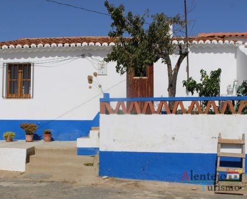 Casa tradicional do Alentejo.