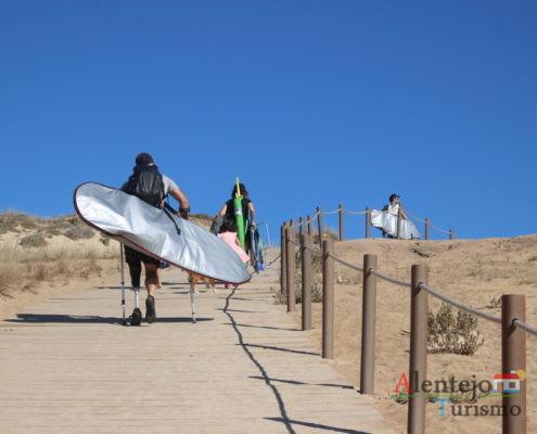 Acessibilidades - Praia do Malhão