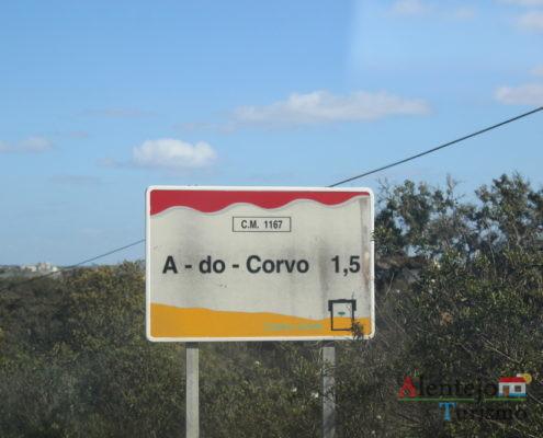 A - do - Corvo - sinalização