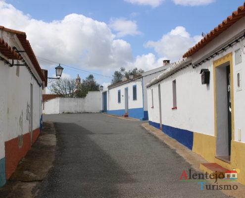 Rua típica Alentejana