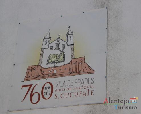 Placa comemorativa dos 760 de S. Cucufate