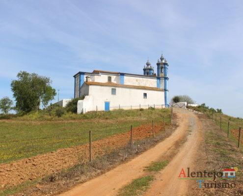 Igreja de Entre Vinhas - Ermida de Nossa Senhora de Assunção - Messejana - Concelho de Aljustrel