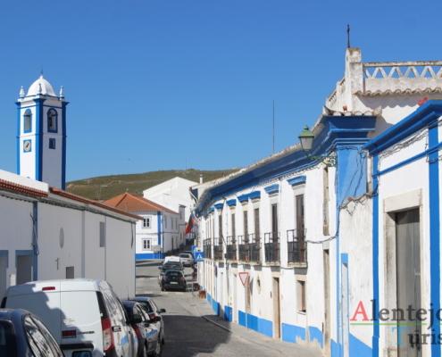 Rua tradicional do Alentejo