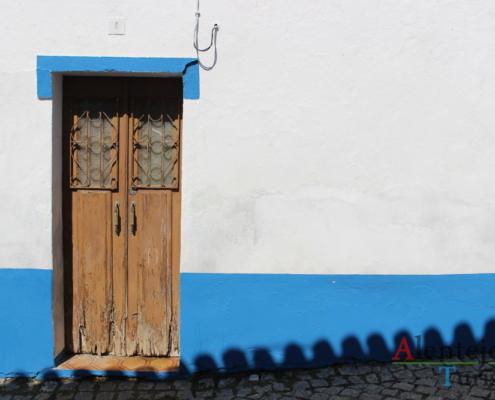 Fachada de casa tradicional do Alentajo