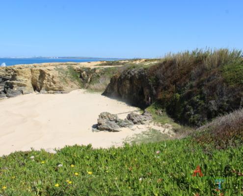 Praia de areia