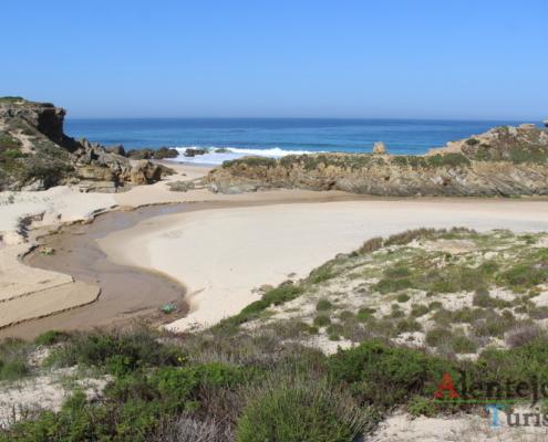 Praia da Foz do Burrinho - Alentejo Litoral