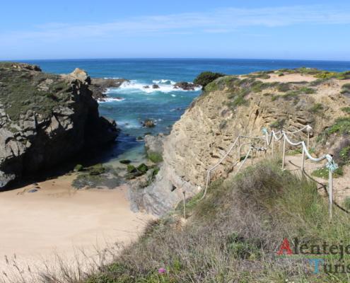 Alentejo litoral - Praia do Poro Covinho