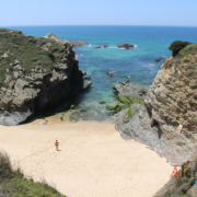 Baía - praia do Porto Covinho