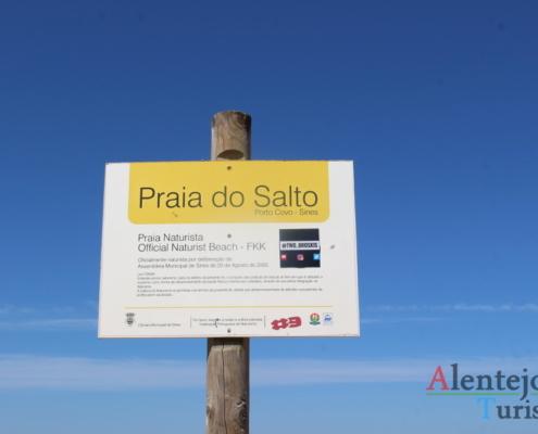 Praia do Salto - Praia Naturista