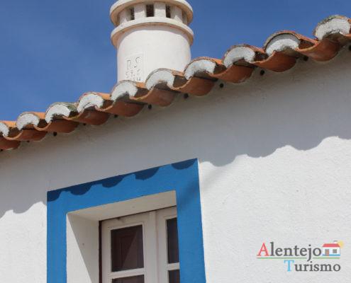 Cata-vento - Janela tradicional do Alentejo - Alcarias - Capital dos cata-ventos - concelho de Ourique