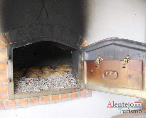 Pão no forno