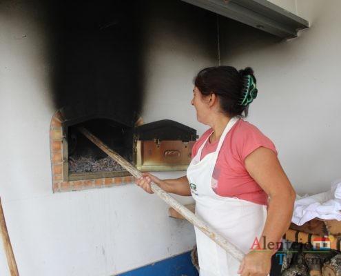 Limpar o forno quente