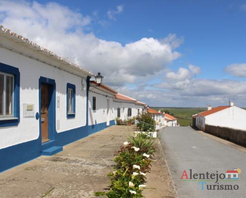 Casével - rua tradicional do Alentejo