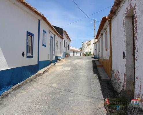 Rua - Alcarias – capital dos cata-ventos – concelho de Ourique
