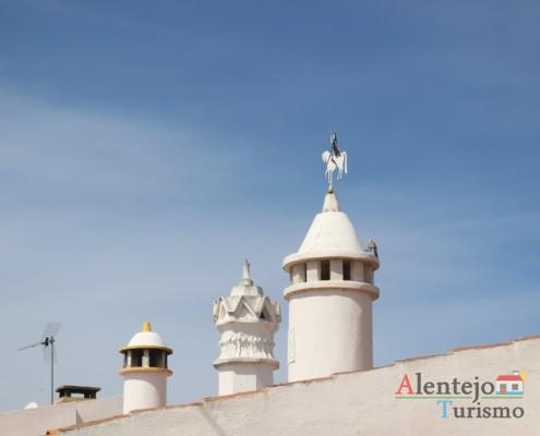 Chaminés e cata-ventos – Alcarias – capital dos cata-ventos – concelho de Ourique
