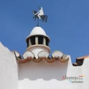 Cata-vento cavaleiro – Alcarias – capital dos cata-ventos – concelho de Ourique