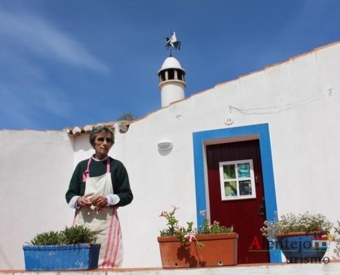 Casa tradicional do Alentejo - Alcarias – capital dos cata-ventos – concelho de Ourique