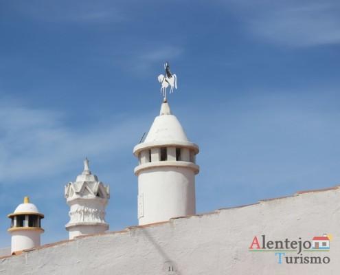 Chaminés e cata-ventos - Alcarias – capital dos cata-ventos – concelho de Ourique