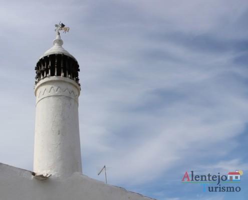 Chaminé tradicional - Alcarias – capital dos cata-ventos – concelho de Ourique