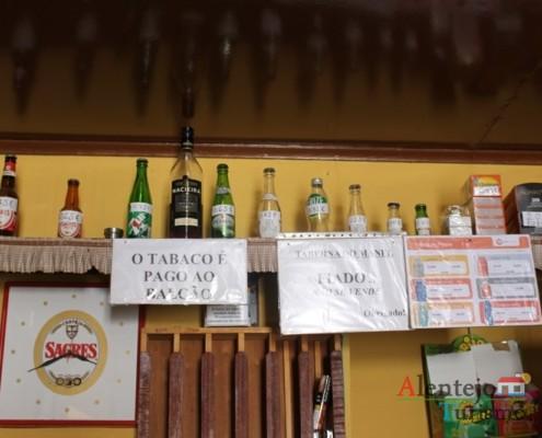 Preços dos produtos - Taberna do Manel – Conceição – Concelho de Ourique