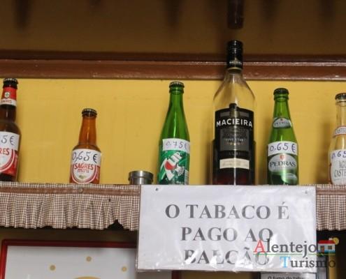 Avisos aos clientes - Taberna do Manel – Conceição – Concelho de Ourique