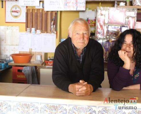 Eu e o senhor Manuel - Taberna do Manel – Conceição – Concelho de Ourique