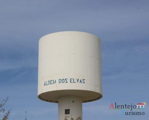 Depósito de água - Casa tradicional do Alentejo - Aldeia dos Elvas - Concelho de Aljustrel