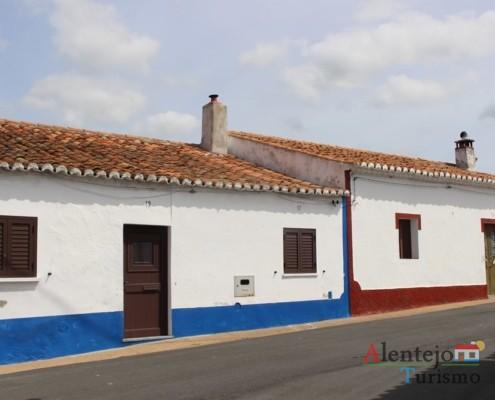 Rua tradicional - Aldeia dos Elvas - Concelho de Aljustrel
