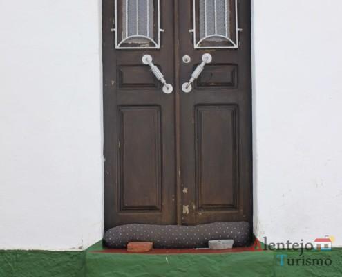 Porta tradicional - Aldeia dos Elvas - Concelho de Aljustrel