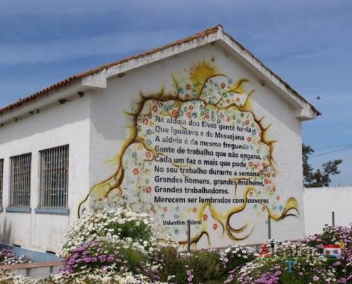 Escola do 1º ciclo - Escola primária – Aldeia dos Elvas – Concelho de Aljustrel