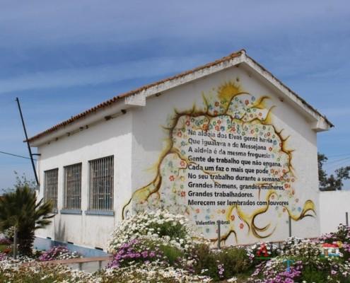 As flores - Escola primária – Aldeia dos Elvas – Concelho de Aljustrel