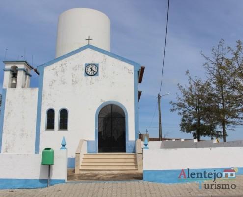 A entrada - Igreja da Aldeia dos Elvas – Concelho de Aljustrel