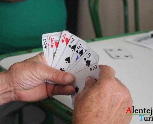 Jogo de Cartas - Taberna Grandaços - Grandaços - Concelho de Ourique - Alentejo