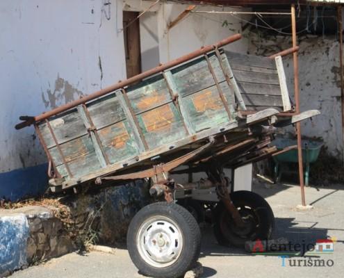 Carro de mula - Grandaços – Concelho de Ourique – Alentejo