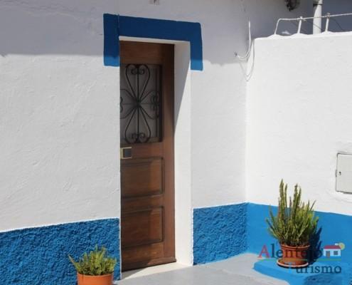 Entrada de casa alentejana - Grandaços – Concelho de Ourique – Alentejo