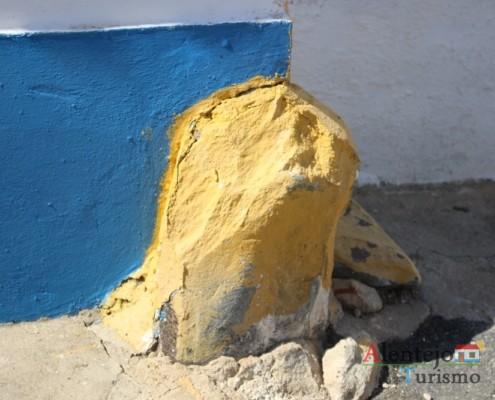Rocha na parede - Grandaços – Concelho de Ourique – Alentejo