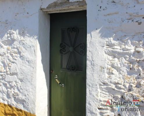 Porta de casa alentejana - Museu vivo – Grandaços – Concelho de Ourique - Alentejo