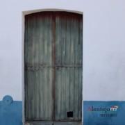 Porta com gateira - Museu vivo – Grandaços – Concelho de Ourique - Alentejo