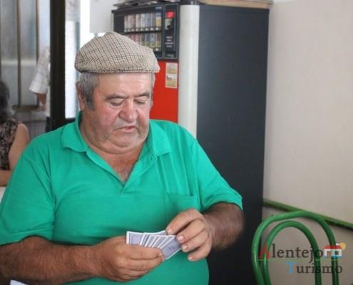Jogar às cartas - Gentes - Museu vivo – Grandaços – Concelho de Ourique - Alentejo