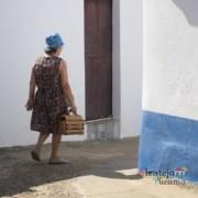 Maria Vitória Nobre mostrou-nos a povoação - Grandaços – Ourique - Alentejo