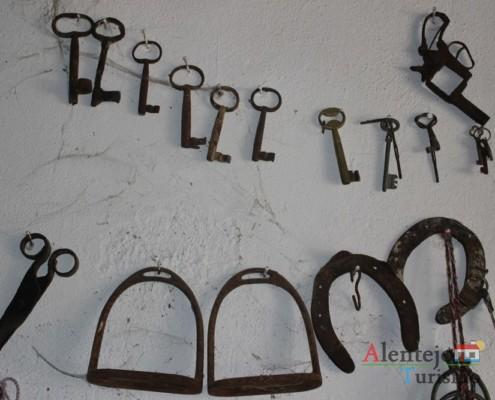 Chaves e ferraduras - Museu em casa – Grandaços - Ourique - Alentejo