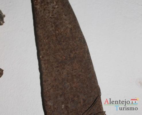Charrua de madeira - Museu em casa – Grandaços - Ourique - Alentejo