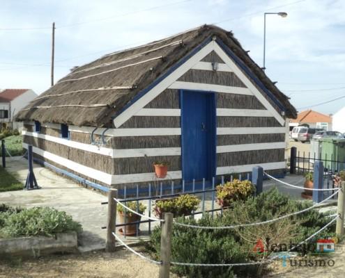 Casa típica da Carrasqueira e do Carvalhal - Cais Palafítico da Carrasqueira – Concelho de Alcácer do Sal – Alentejo