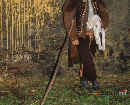 O pastor alentejano e o borrego