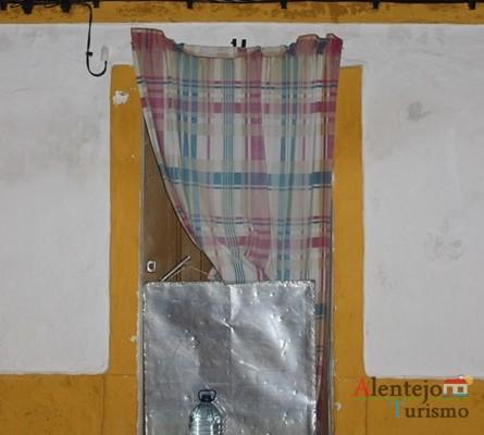 Porta tradicional alentejana; Vila Fernando; Concelho de Elvas; Alentejo