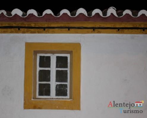Janela tradicional alentejana; Vila Fernando; Concelho de Elvas; Alentejo