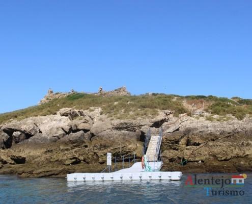 Ancoradouro; Ilha do Pessegueiro; Porto Covo; Concelho de Sines; Parque Natural do Sudoeste Alentejano e Costa Vicentina; Alentejo