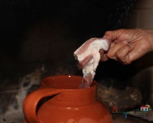 Jantar de acelgas; Alentejo; AlentejoTurismo