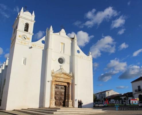 Igreja de Nossa Senhora da Assunção, paroquial de Safara; Concelho de Moura; Alentejo