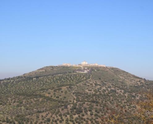 Paisagem do Castelo de Elvas; Distrito de Portalegre; Alentejo